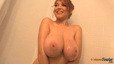 Beige shower cami 2  5 minute promo  who knew getting clean
